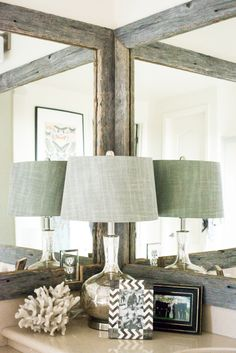 Gorgeous Reclaimed Frames :: Home Decorating from The TomKat Studio