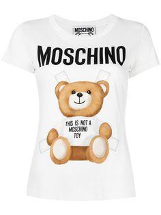 MOSCHINO toy bear paper cut out T-shirt. #moschino #cloth #t-shirt