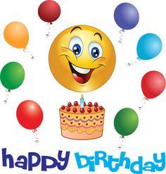 Birthday Girl Smiley Birthday Emoticons Birthday Emoticons