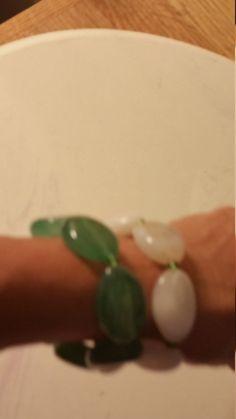 set of Two stone braceletts by AngelsAllAroundyou on Etsy
