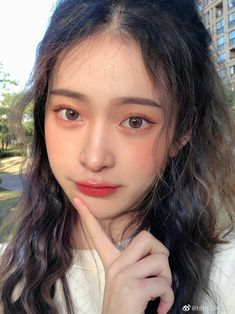 Makeup Korean Style, Korean Eye Makeup, Korea Makeup, Aesthetic Makeup, Aesthetic Girl, Asian Makeup Tutorials, Ulzzang Makeup, Ideal Girl, Pretty Korean Girls