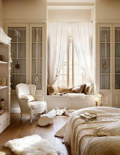 schlafzimmer einrichten holzboden luftige gardinen