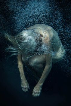 The Silence Is Here Again Tonight: Fine Art Series by Klaartje Lambrechts #inspiration #photography