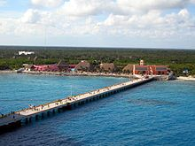 Costa Maya, Mexico    Visited in April 2004 on a family vacation.