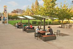 #AUS201718 #groupE (0) solar table charging stations (1) CarrierClass Green Infrastructure and ConnecTable (2) University of California, Riverside (3) Built, 2014 (4) - (5) These pavilions are a very interesting approach on how we can make a sustainable design for campu's public area and at the same time provide to the students a place to seat and work (6) http://theconnectable.com/university-of-california-riverside-case-study-2/