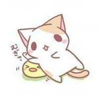 可爱卡通猫头像-让爱情简单_动漫卡通头像_qq头像大全