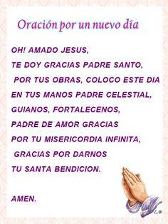 Oracion por un nuevo dia