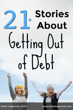 Learn how these individuals and families attacked their debt and came out on top. via @adamhagerman
