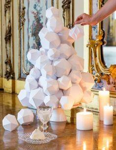 DIY paper tree Crédit : Olivier Martin-Gambier