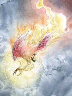 Fiery Glory by Stephanie Pui-Mun Law