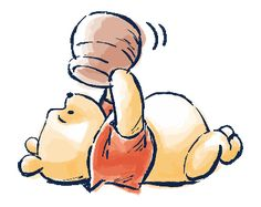 LINE Official Stickers - Winnie the Pooh & Christopher Robin Example with GIF Animation Winnie The Pooh Cartoon, Winnie The Pooh Pictures, Cute Winnie The Pooh, Winne The Pooh, Winnie The Pooh Quotes, Winnie The Pooh Friends, Winnie The Pooh Drawing, Pooh Bear, Tigger