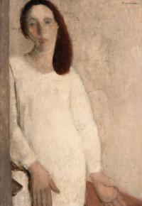 Autoritratto in bianco, 1928-30