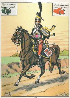 French; Hussar-Guides d'Augereau, Guide, Grande Tenue, 1797
