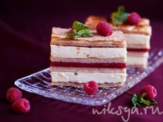 Millefeuille with berries and fresh mint (Milena) from Pierre Hermé ...