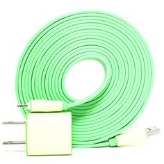 iPhone 5 Charger 10ft Green, $40, now featured on Fab.