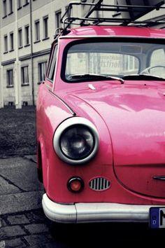 pink trabi