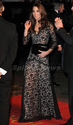"Kate at The UK premiere of ""War Horse"" in London"