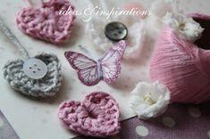 Ideas and Inspirations: Valentisherz * Valentine heart Love Crochet, Knit Crochet, Crochet World, Knitting For Kids, Valentine Heart, Love Heart, Design Art, Crochet Earrings, Crochet Patterns