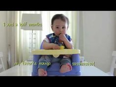 Baby-Led Weaning at 6 Months to 8.5 Months - YouTube