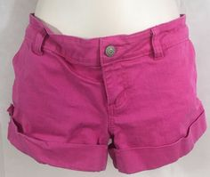 Juniors Size Large Pink short Shorts girls Petite women Cute legs Show them lol #CiSonobyCavalini #Everyday