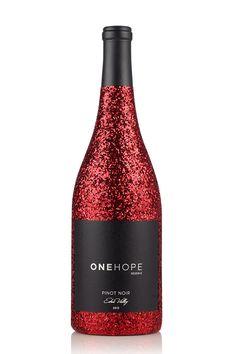 viaONEHOPE - 2012 Edna Valley Reserve Pinot Noir Glitter Bottle