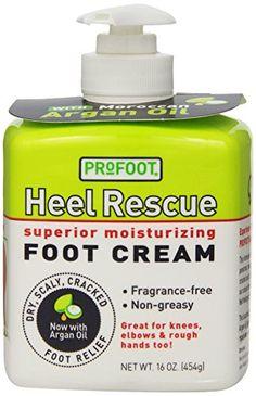 This stuff is AMAZING!!!  PROFOOT Heel Rescue Foot Cream, 16 oz...