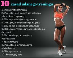 Niby oczywiste a często o nich zapominamy. #workouts #fit #gym # trening #fitness # siłownia Exercises, Clothes, Diet, Outfits, Clothing, Exercise Routines, Kleding, Excercise, Work Outs
