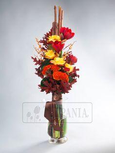 Элегантный мужской букет. Заказ цветов в Киеве. Цветочный интернет магазин Тюльпания