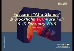 AT A GLANCE: Foscarini @ Stockholm Furniture Fair