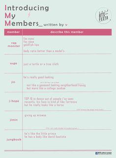 2016 BTS FESTA : Our Written Profile (2016 Ver.) Round 2 & 3 [160609]