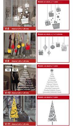 22 mejores im genes de vidrieras navide as en 2013 for Adornos navidenos mercadolibre
