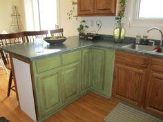 Kitchen Cabinets Annie Sloan Chalk Paint annie sloan coco chalk paint™ on laundry room cabinets. | diy