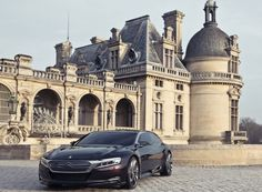 2012 Citroen Numero 9 Concept: Four Cylinder Hybrid that produces 295 Horsepower. 0 to 60 mph at seconds. Citroen Concept, Concept Cars, Citroen Ds5, Buy And Sell Cars, Barcelona Cathedral, Super Cars, Taj Mahal, The Incredibles, Vintage