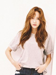 Jessica Jung for her brand Blanc & Eclare. Mode Jessica Jung, Jessica Jung Fashion, Snsd, Yoona, Jessica & Krystal, Krystal Jung, Jessie, Denim Tees, Ex Girl