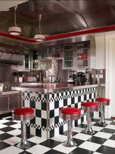 Dream kitchen. 50s diner.