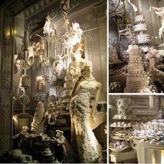 Bergdorf Goodman's Winter Wonderland Windows  Window Wonderland 2012