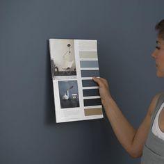 Mange har spurt hvilken farge paret i reklamefilmen maler med. De maler med den supermatte LADY Pure Color i fargen LADY 4477 Deco Blue;… Best Paint Colors, Wall Colors, Colours, Bedroom Color Schemes, Colour Schemes, Color Inspiration, Interior Inspiration, Jotun Lady, Deco Blue