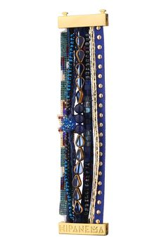 Bracelet - lagoon - Blue / Navy Hipanema on MonShowroom.com