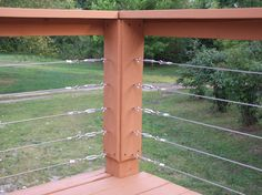 Add Your Outdoor Living Space with Deck Railing Ideas: Deck Railing Ideas With Vinyl Handrail And Cable Railing System Also Home Depot Decks For Patio Design Ideas With Outdoor Living Space And Lawn For Backyard Landscape Plus Garden Decoration