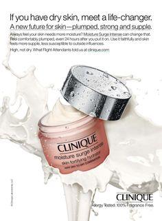Clinique Skincare Advertising