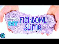 FISHBOWL SLIME - THE CRUNCHIEST SLIME! NO BORAX! - YouTube