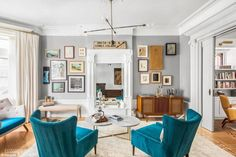 Beautiful interiors: The couple bought the home in late 2015 for $6 million and renovated it