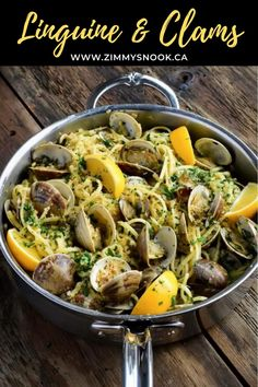 Linguine Recipes, Pasta Recipes, Cooking Recipes, Seafood Platter, Seafood Pasta, Linguine And Clams, Lunches And Dinners, Meals, Clam Recipes