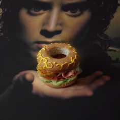 Hobbit's hamburger - Creative hamburgers