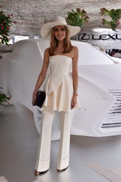 Kate Waterhouse at the Lexus Design Pavilion - Derby Day 2015 - Vogue Australia