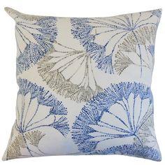 Grove Floral Cotton Throw Pillow | Wayfair