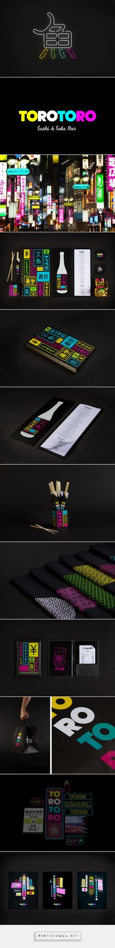 SAVVY STUDIO  |  Torotoro restaurant identity, packaging, branding curated by Packaging Diva PD. Sushi's on my mind for lunch : ) PD