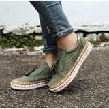 Women Slip On Hollow Out Flats Ladies Breathable Loafers Casual Platform Vulcanized Sewing Sneakers Shoes Clothing Sites, Ladies Slips, Bob Hairstyles, Espadrilles, Shoes Sneakers, Loafers, Platform, Slip On, Flats