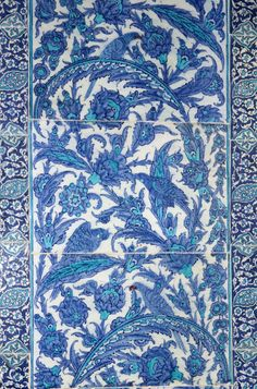 Tiles, Topkapi Palace, Istanbul, Turkey http://pinterest.com/pin/234609461810064022/repin/