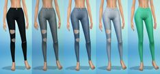My Sims 4 Blog: Skinny Jeans and Skirts by DaniParadise
